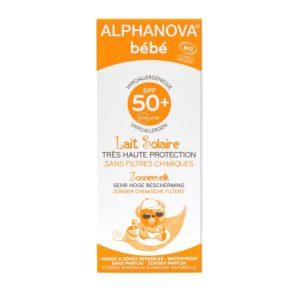 Creme protetor solar para bebé SPF50