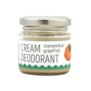 creme desodorizante de toranja e camomila