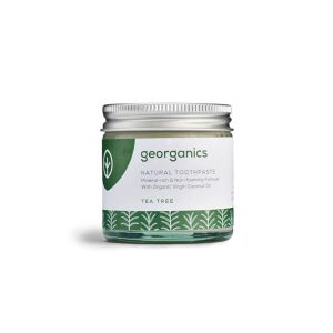 pasta de dentes natural - árvore-do-chá - georganics