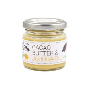 Manteiga de cacau e óleo de jojoba Zoya Goes Pretty