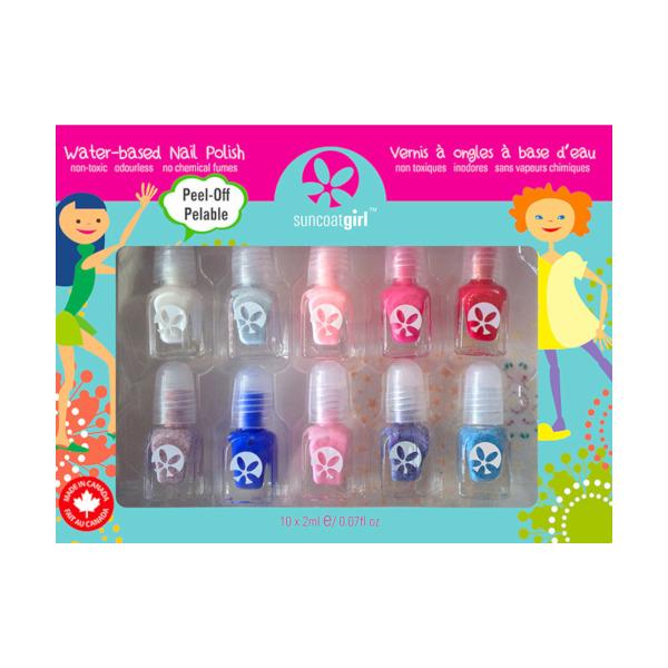 water-based nail polish kit Flare & Fancy