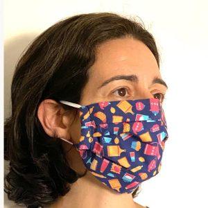 mascara reutilizavel de tecido