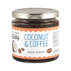 esfoliante de coco e café