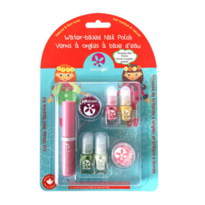 kit de 4 vernizes para criança - Jingle Lingle Sparkle