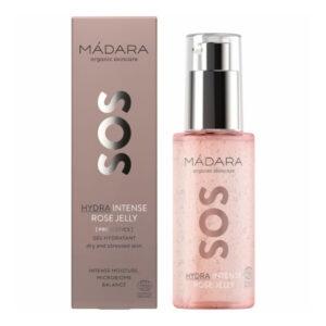 gel rosa com ácido hialurónico